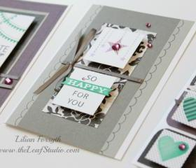 For Always Cards (set of 3) by The Leaf Studio. FREE shipping.